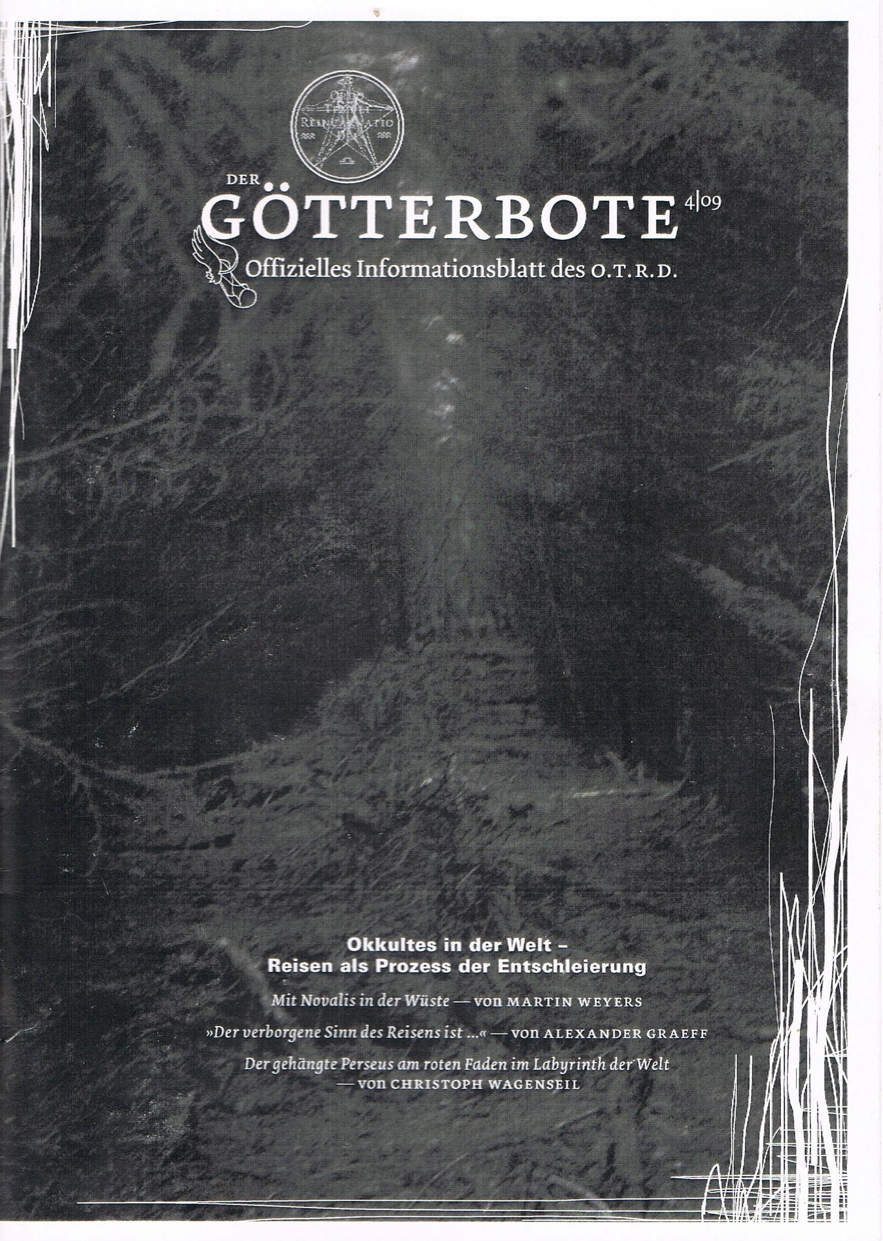 Götterbote, Ausgabe 4/09